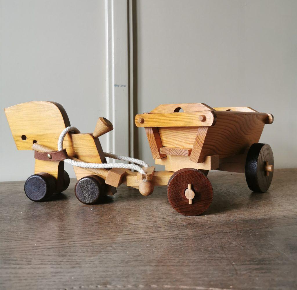 vintage houten speelgoed